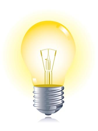 Glühbirne Vektorgrafik
