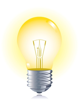 bulb idea: Light bulb