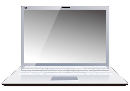 laptop screen: Laptop vector PC Illustration