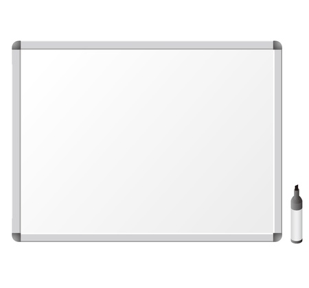 magnetic: Whiteboard. Vector Illustration Illustration