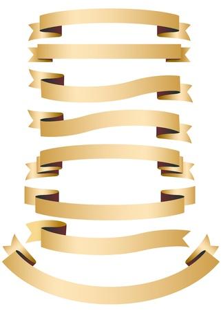 Illustration: Ribbon Banners set