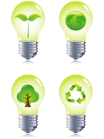 kyoto: Lamps, eco concept, set collection