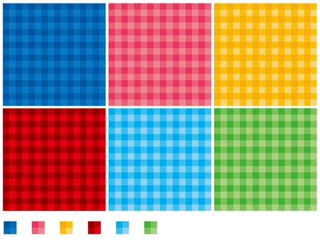 check pattern vector swatch Vector