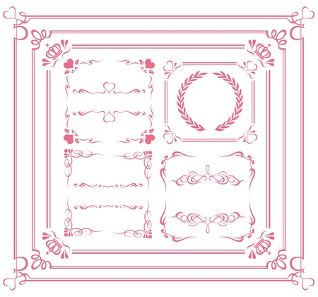 Design Elements Collection Illustration Stock Vector - 12839820