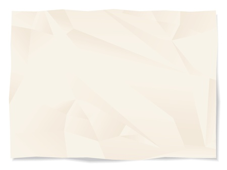 Broken paper page isolated Stock Vector - 12839903