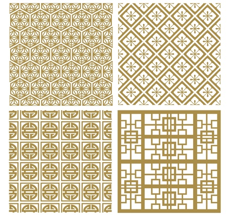 Chinese decorative frame collection