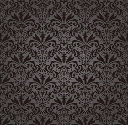 Seamless damask pattern Stock Vector - 12955945