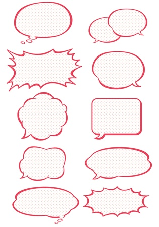 dialog balloon: Speech bubble collection