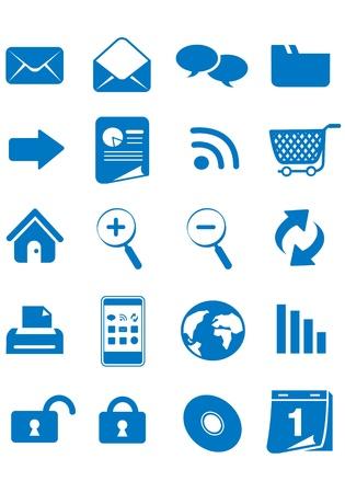 web icons vector Stock Vector - 13108992
