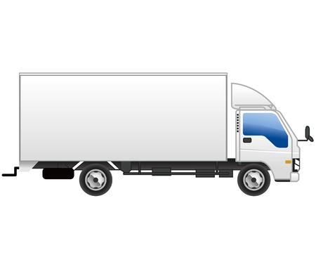 fuel truck: truck icon vector