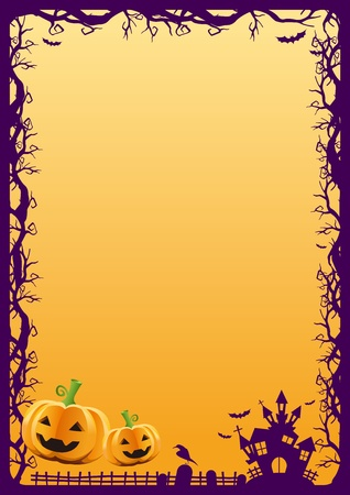 halloween background: HALLOWEEN BACKGROUND vector