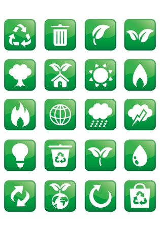 ecology icon Stock Vector - 13197736