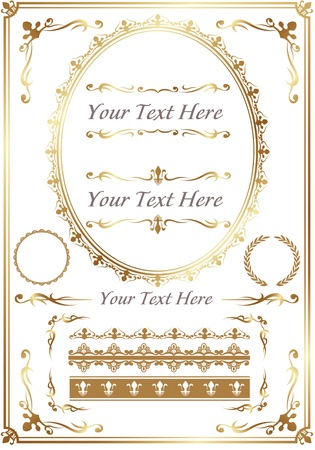 Design Elements Collection Stock Vector - 13197741