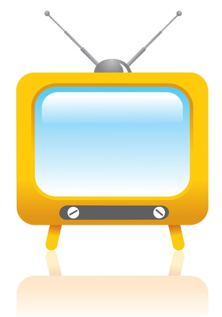 tv icon: Retro tv