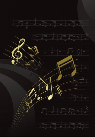 music & note Stock Vector - 13946614