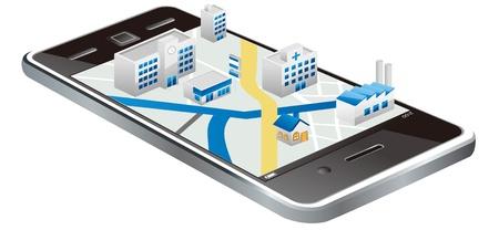talál: smartphone térkép