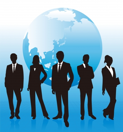 asian business meeting: business people
