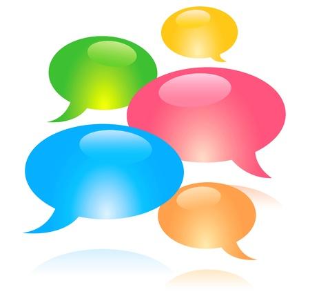 Speech bubble Stock Vector - 16067330