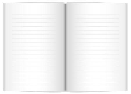 Vector blank notebook Stock Vector - 16155023