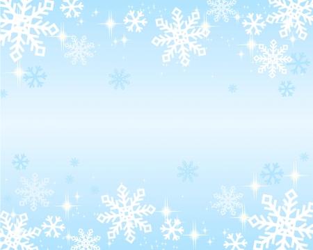 icy: snowflakes background