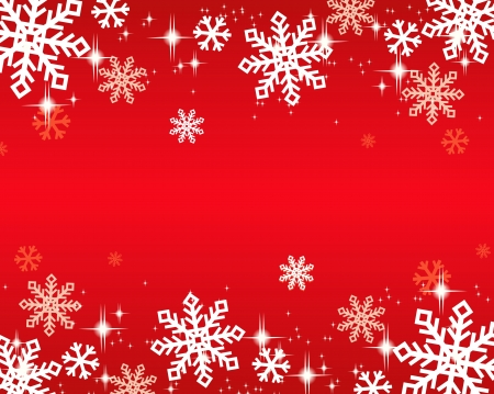 snowflakes background Stock Vector - 16548732