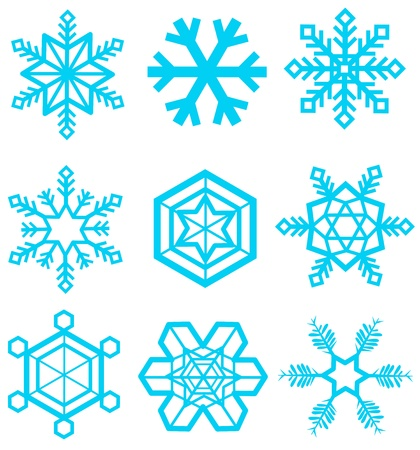 snowflake icon  Stock Vector - 16697265