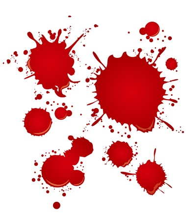 spatters: blood set