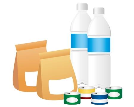 emergency foods set