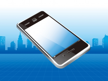 smart phone business Stock Vector - 17546868