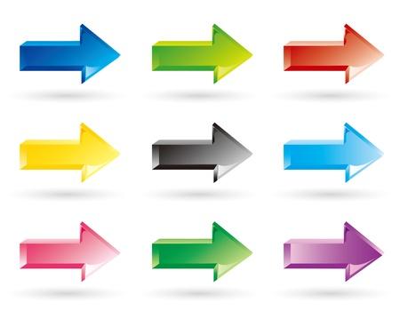 blue arrow: arrow