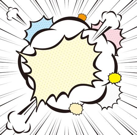 explode stars: Comic Bubbles