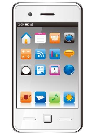 smartphone Stock Vector - 18287909