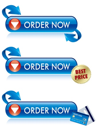 buy now: Order Now Button Vector