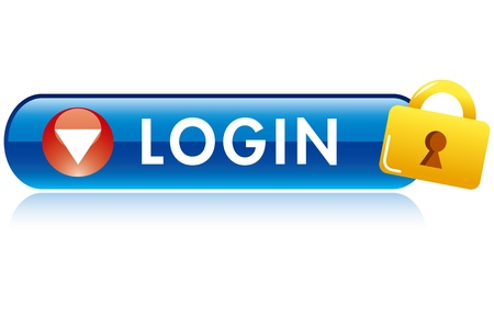 check in: log in  button icon