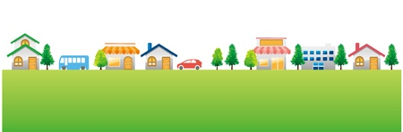 housing estates: citt� Citt� sfondo