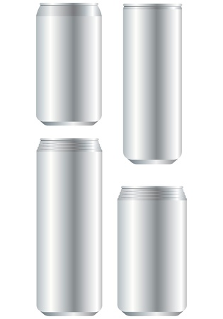aluminum can Vector Stock Vector - 20230963