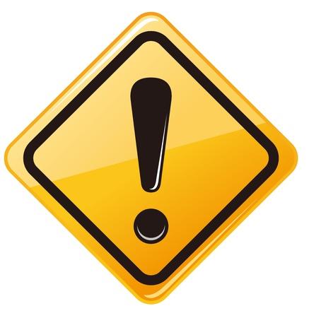 avviso importante: segnale di avvertimento