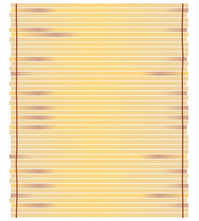 Bamboo mat background Stock Vector - 21732391