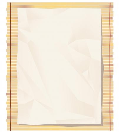 Bamboo mat background  Stock Vector - 21732392