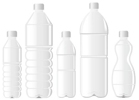 garrafa pet garrafa de água Ilustración de vector