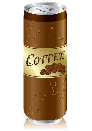 aluminum can: coffee