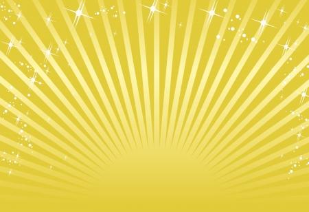 ゴールドの背景  イラスト・ベクター素材