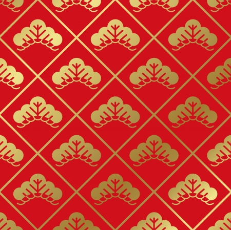 tradition traditional: japanese pattern Vector