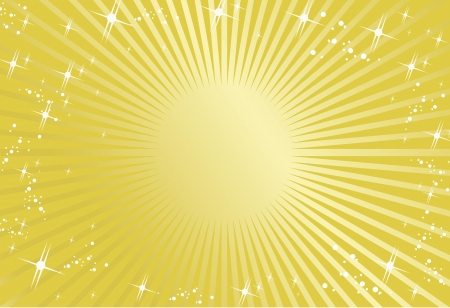 light streaks: gold background Vector  Illustration