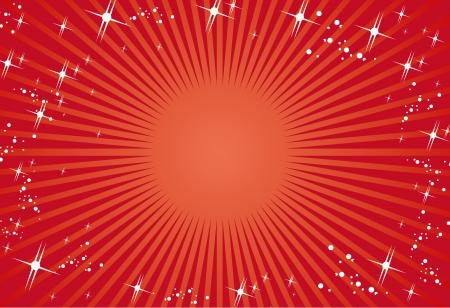 赤い背景のベクトル  イラスト・ベクター素材