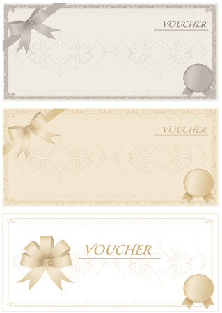 Voucher Vector Stock Vector - 26039355