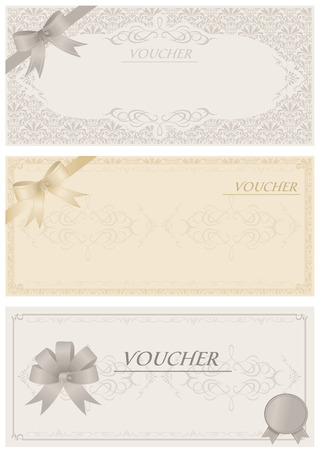 Voucher Vector Stock Vector - 26039356