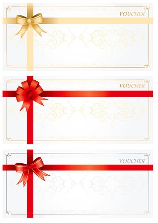 cheque en blanco: Diseño Voucher