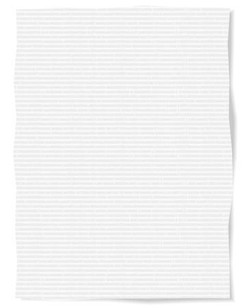 white paper texture: White paper texture Vector Illustration