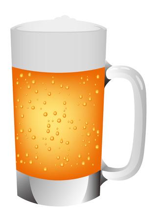 Beer illustration icon